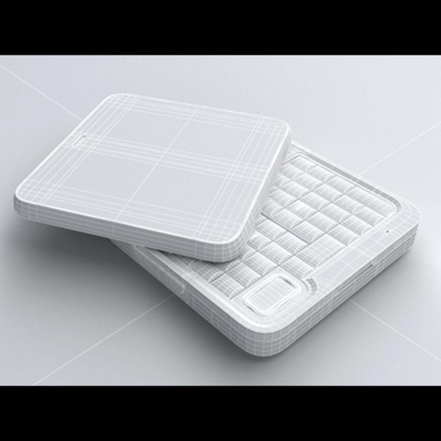 Motorola FlipOut royalty-free 3d model - Preview no. 21