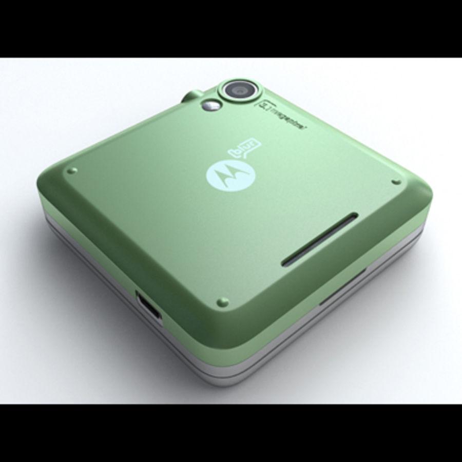 Motorola FlipOut royalty-free 3d model - Preview no. 16