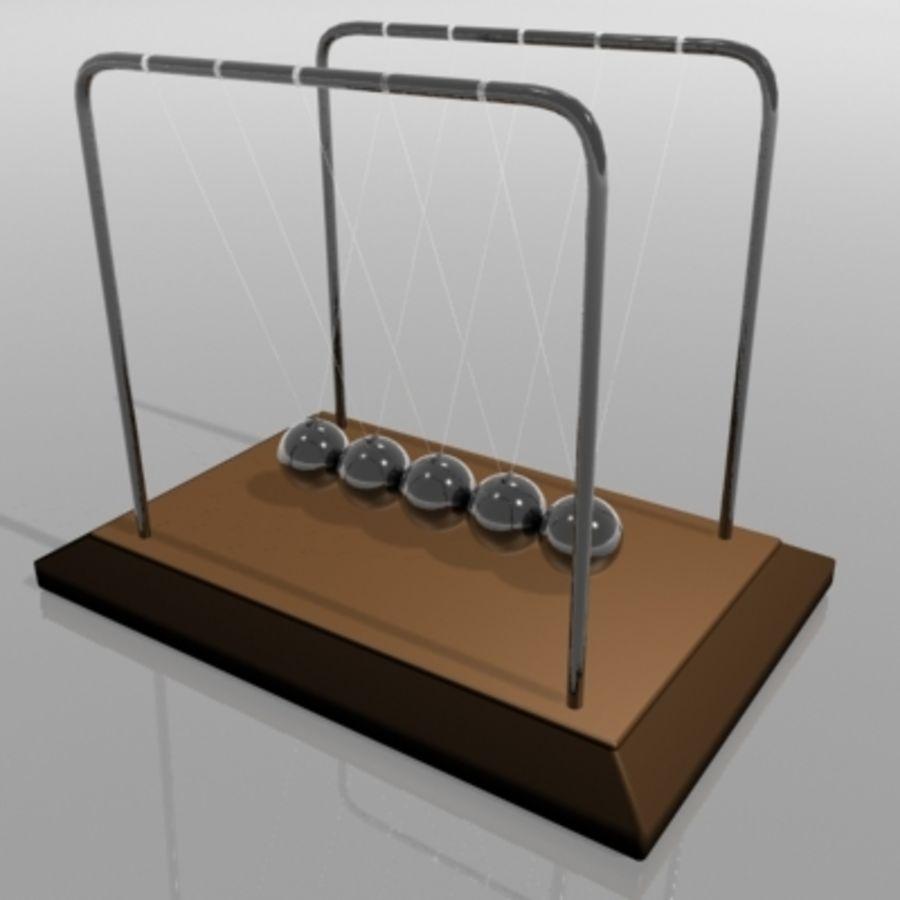 牛顿摇篮 royalty-free 3d model - Preview no. 1