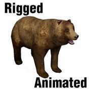 Bear Brown 3d model
