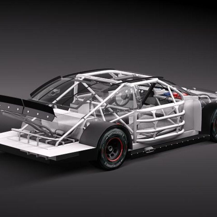 NASCAR 2010 Dodge Challenger royalty-free 3d model - Preview no. 7
