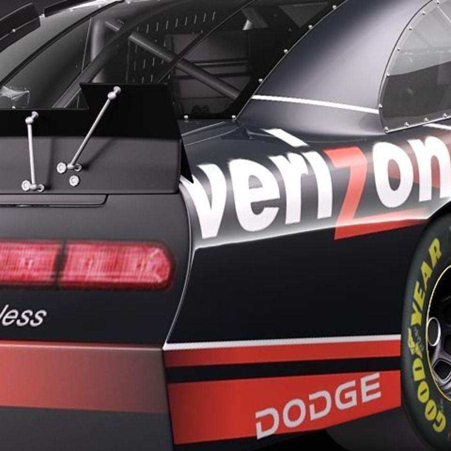 NASCAR 2010 Dodge Challenger royalty-free 3d model - Preview no. 12