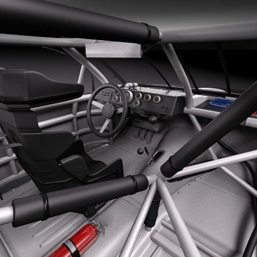 NASCAR 2010 Dodge Challenger royalty-free 3d model - Preview no. 9