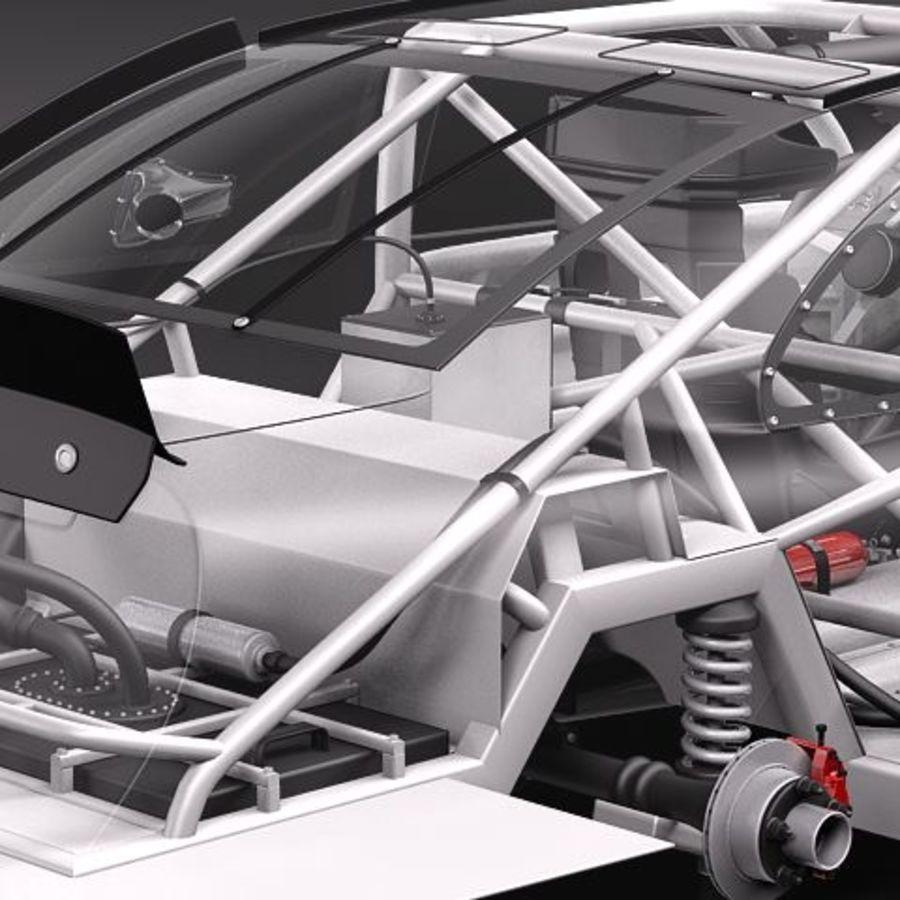 NASCAR 2010 Dodge Challenger royalty-free 3d model - Preview no. 8