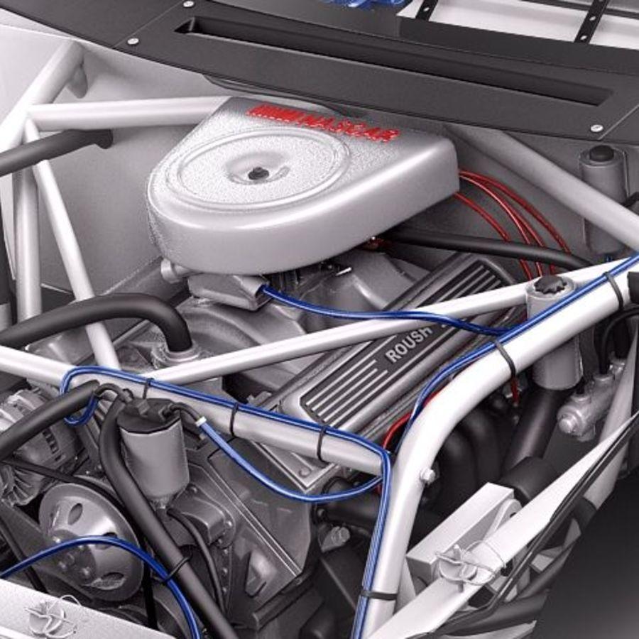 NASCAR 2010 Dodge Challenger royalty-free 3d model - Preview no. 3