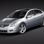 Nissan Altima sedan 2010 3d model