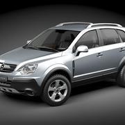 オペルアンタラ2009-2012 3d model