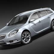 Opel Insigniaスポーツツアラー 3d model