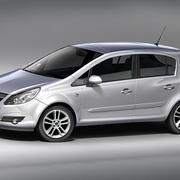 Opel Corsa 5door 3d model