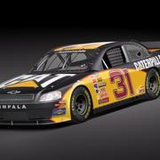 NASCAR 2010 Chevrolet Impala SS Cat Dupont GoDaddy 3d model
