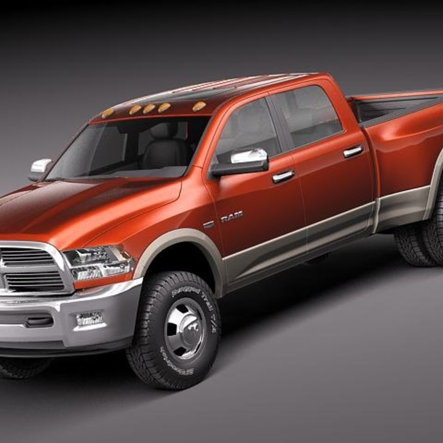 Dodge Ram 3500 HD 2011 3D Model $129