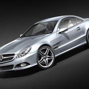 Mercedes-benz SL 2009 3d model