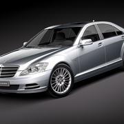 Mercedes S-class 2010-2013 3d model