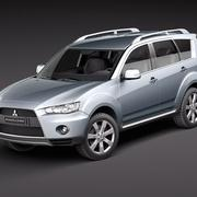 Mitsubishi Outlander 2011 3d model