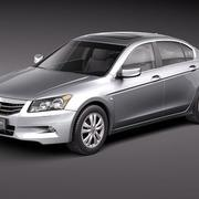 honda accord 2011 usa 3d model