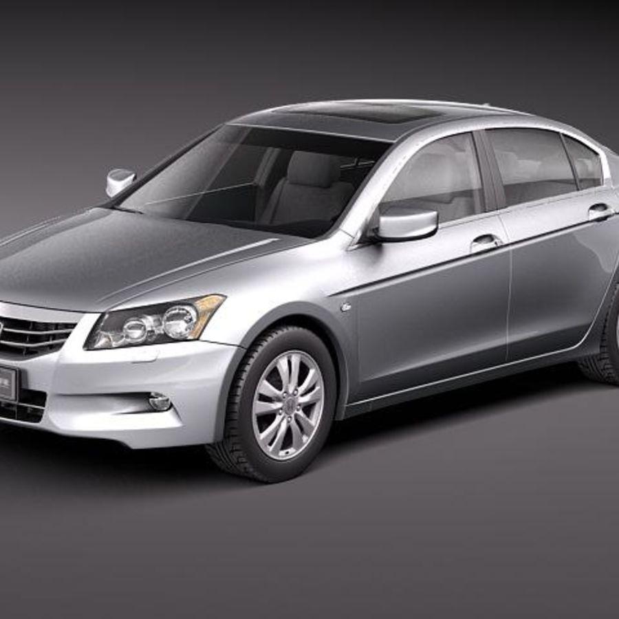 Honda Accord 2011 USA royalty-free 3d model - Preview no. 1