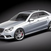Mercedes E - AMG 2010-2012 3d model