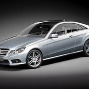 Mercedes E Coupe 3d model
