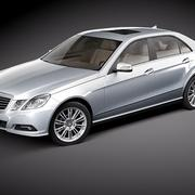Mercedes E class sedan 3d model