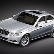 Mercedes E class sedan midpoly 3d model
