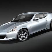 Nissan 370z 3d model