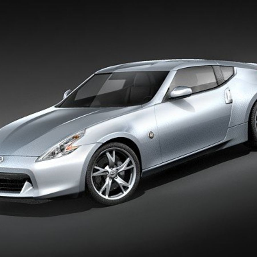 Nissan 370z royalty-free 3d model - Preview no. 1
