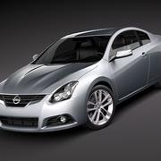 Nissan Altima Coupe 2010 3d model