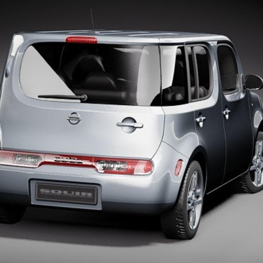 Nissan 2010 nissan cube : Nissan Cube 2010 3D Model $129 - .obj .lwo .fbx .c4d .max .3ds ...