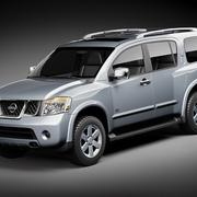 Nissan Armada Pathfinder 3d model