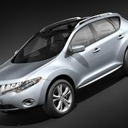 Nissan Murano 2009-2012 3d model