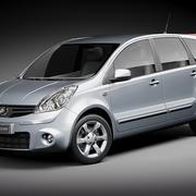 Nissan Note 2009-2012 3d model