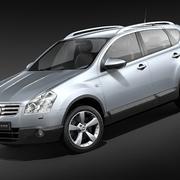 닛산 Qashqai + 2 2009-2012 3d model
