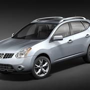 Nissan Rogue 2009-2012 3d model