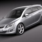 Opel Astra Touring - Estate 3d model