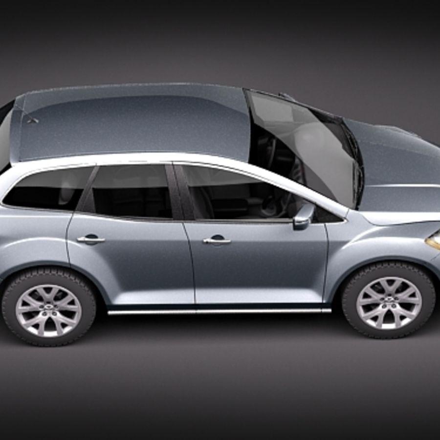 Mazda CX-7 royalty-free 3d model - Preview no. 8