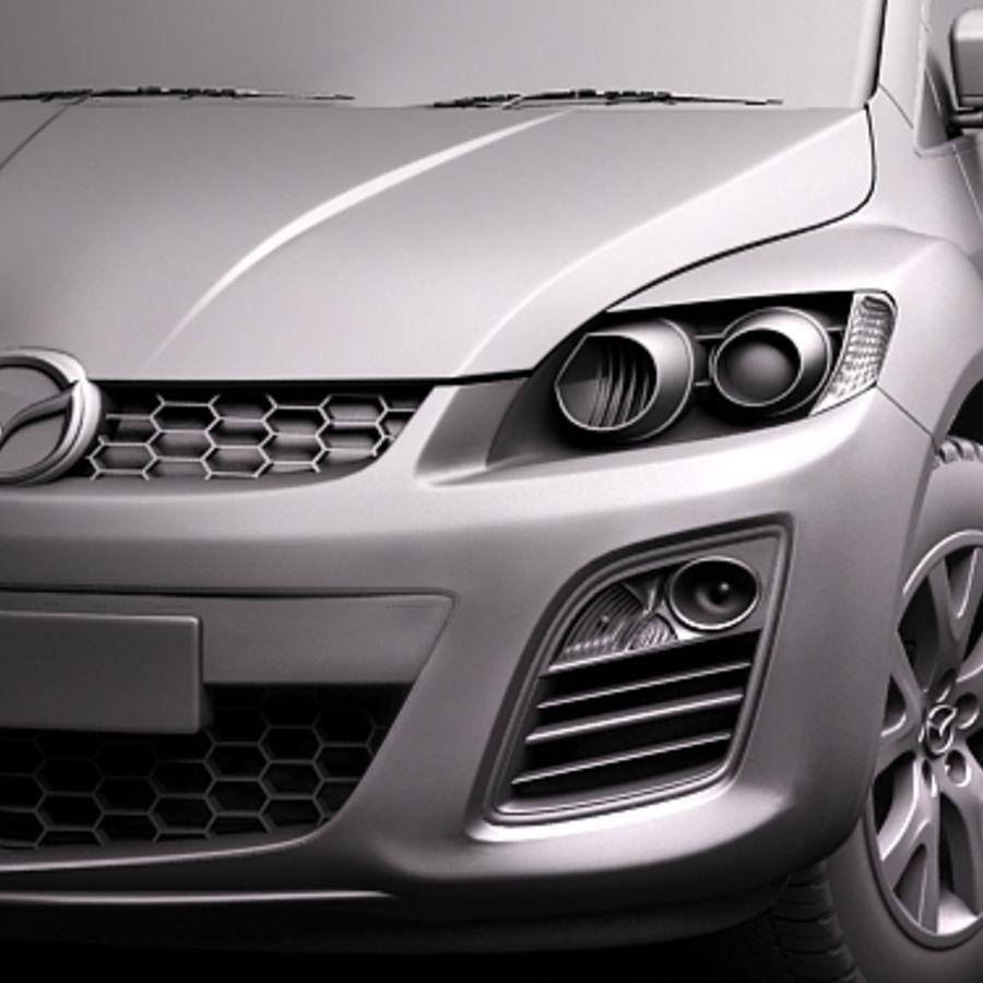 Mazda CX-7 royalty-free 3d model - Preview no. 11