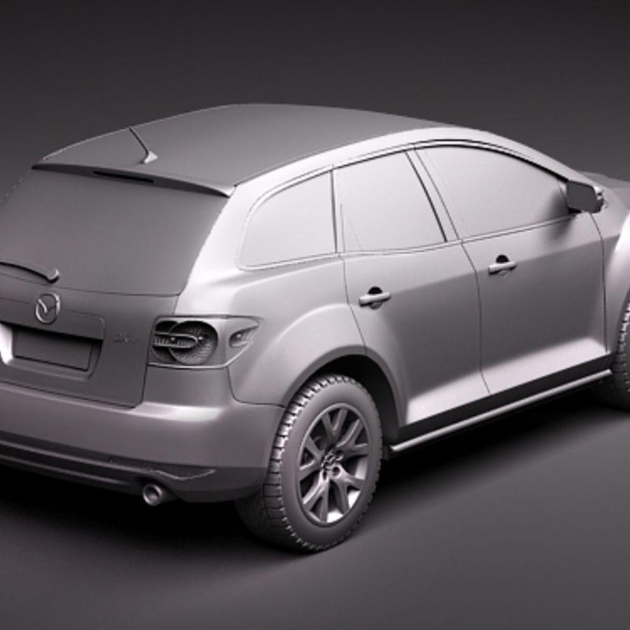 Mazda CX-7 royalty-free 3d model - Preview no. 9