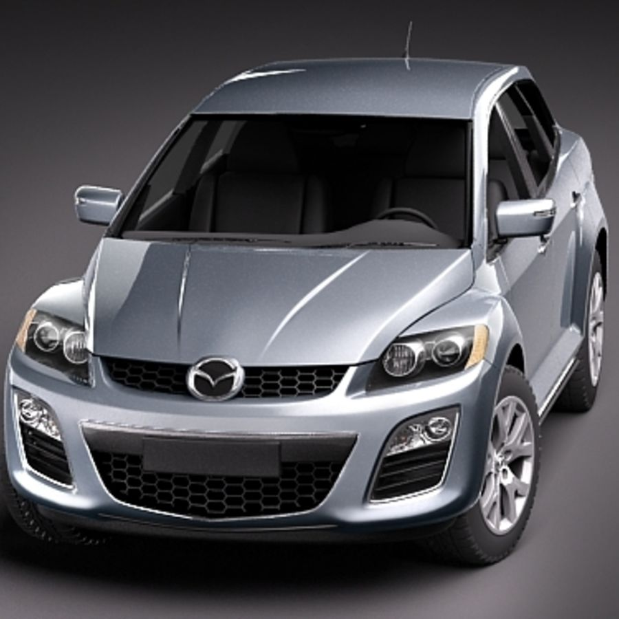 Mazda CX-7 royalty-free 3d model - Preview no. 2