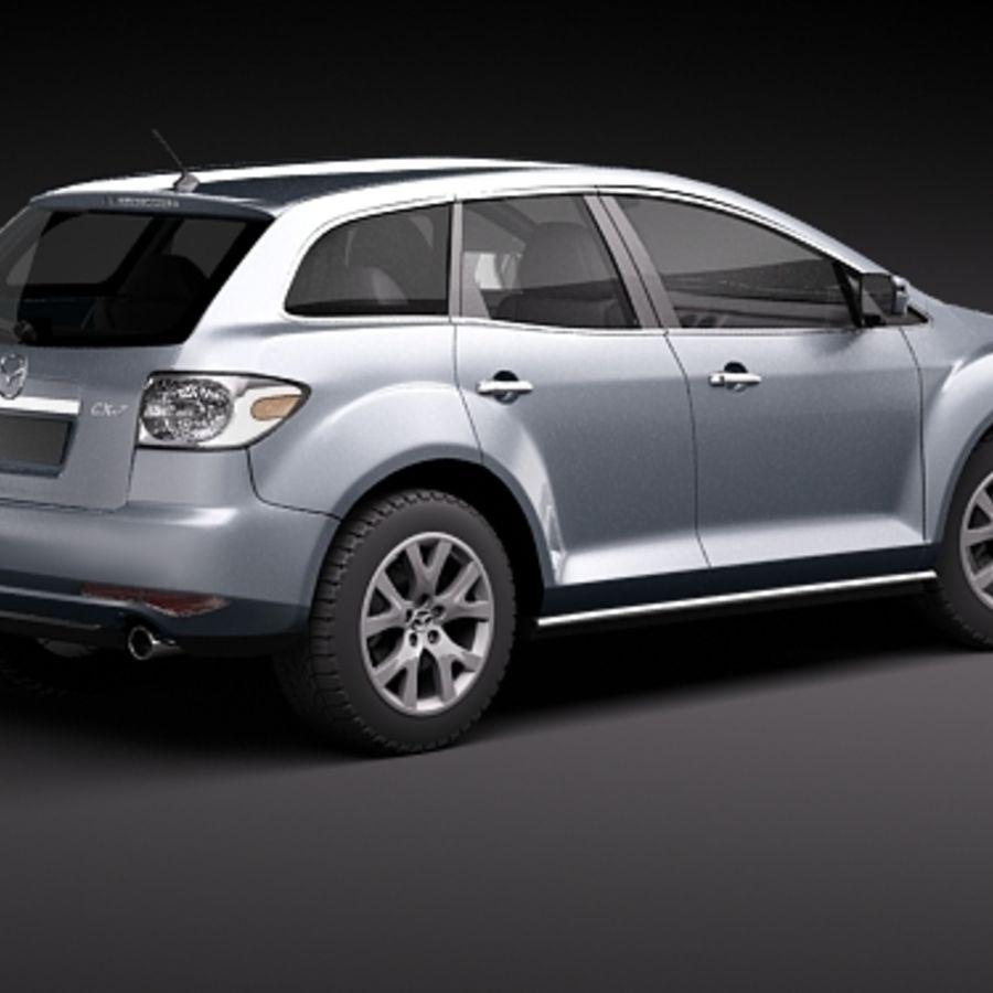 Mazda CX-7 royalty-free 3d model - Preview no. 6