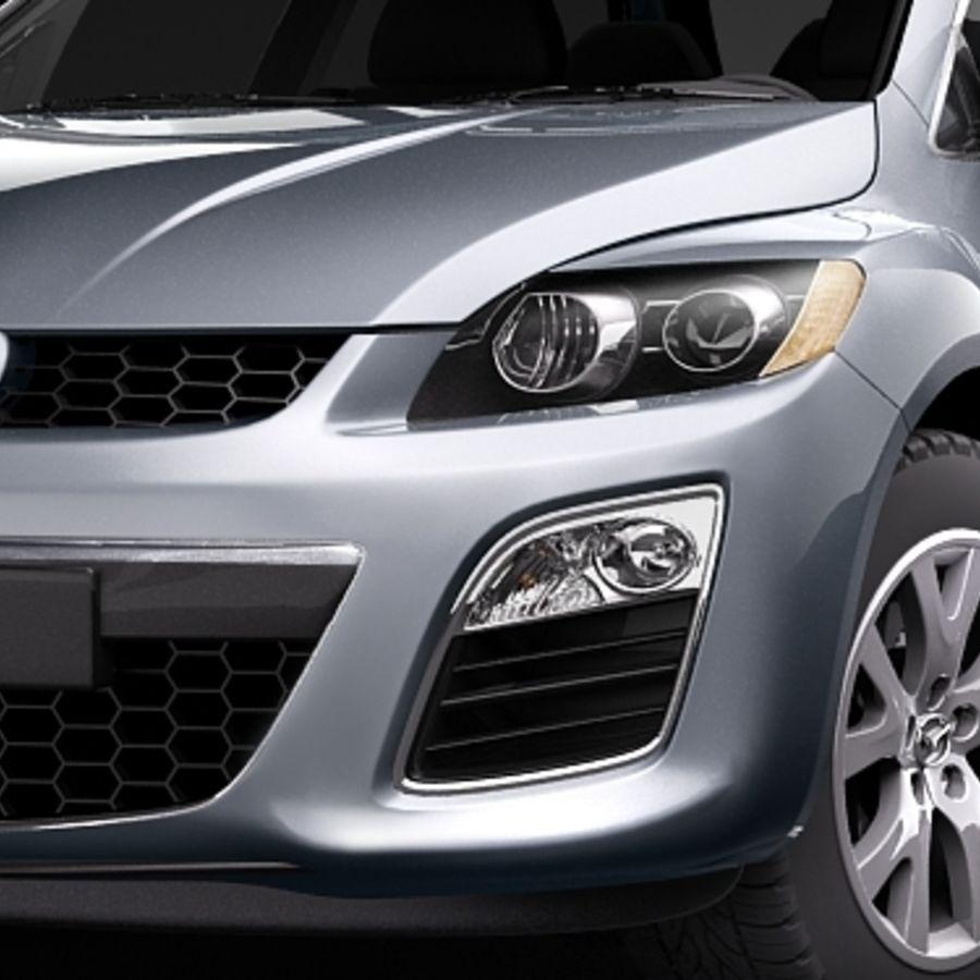 Mazda CX-7 royalty-free 3d model - Preview no. 3