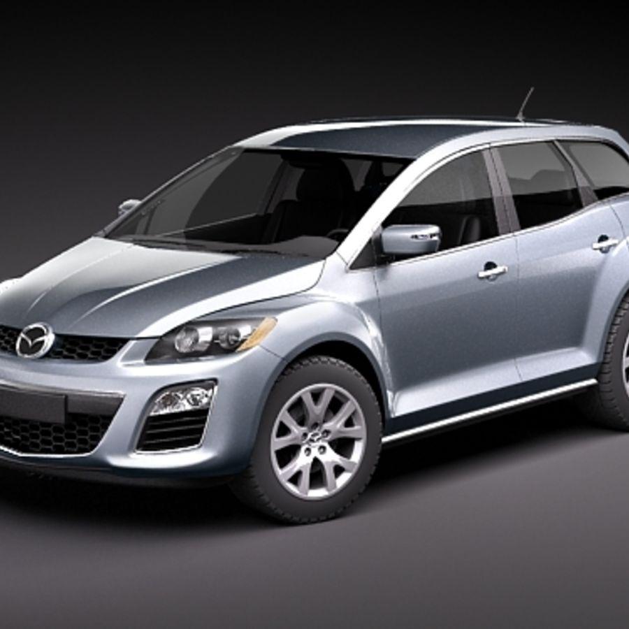 Mazda CX-7 royalty-free 3d model - Preview no. 1