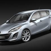 Mazda 3 hatchback 2009-2012 3d model