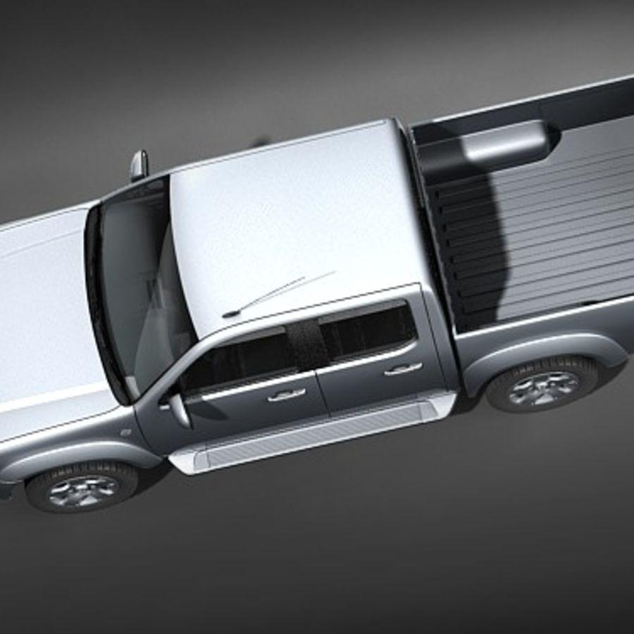 Mazda BT-50 royalty-free 3d model - Preview no. 8