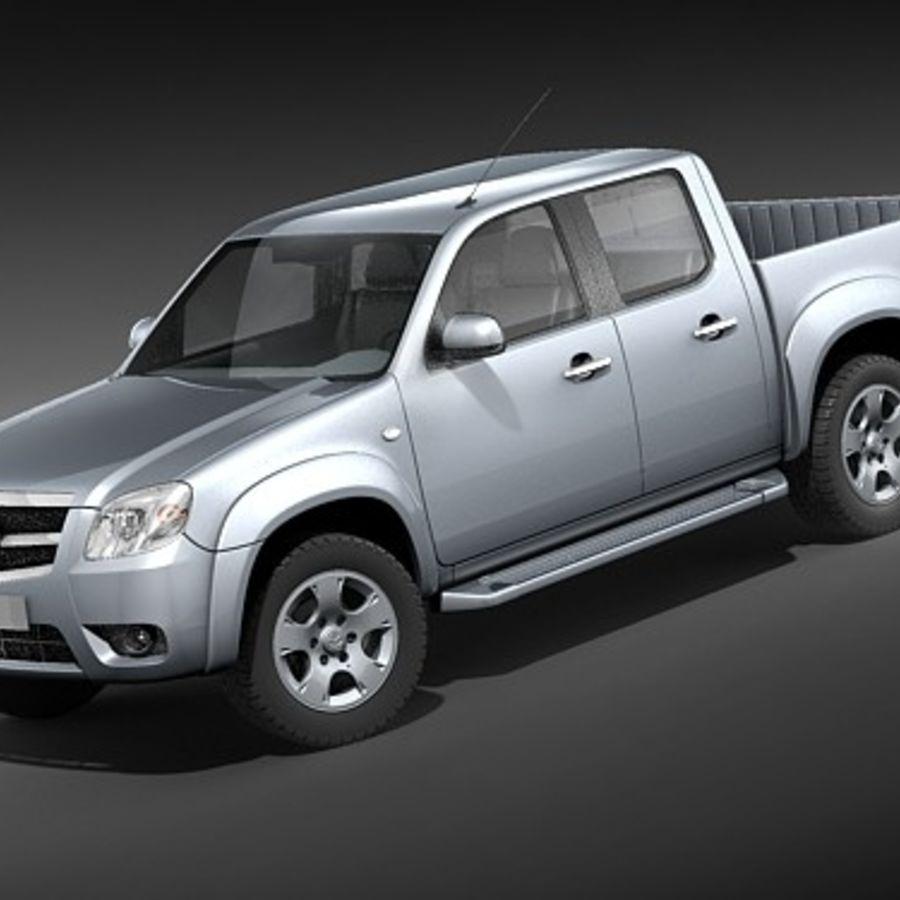 Mazda BT-50 royalty-free 3d model - Preview no. 1