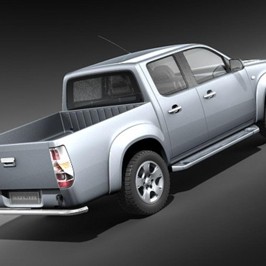 Mazda BT-50 royalty-free 3d model - Preview no. 5