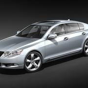 Lexus GS 350 3d model