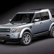 LandRover Discovery 4 3d model