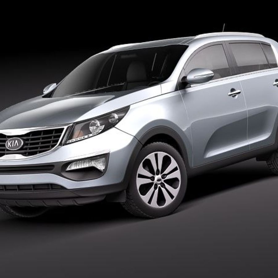 kia sportage 2011 3d model 129 obj lwo fbx c4d max 3ds free3d. Black Bedroom Furniture Sets. Home Design Ideas
