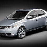 Kia Forte 2010-2012 3d model