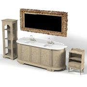 biancini & capponi bagno bathroom furniture 3d model